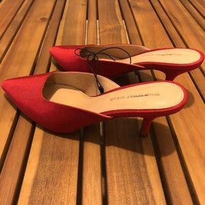 Nwot who what wear heels
